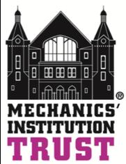 Mechanics' Institution trust logo - Mechanics institution public consultation